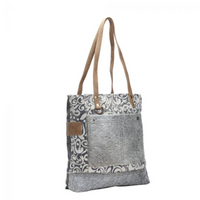 HAIRON POCKETS TOTE BY MYRA BAGS