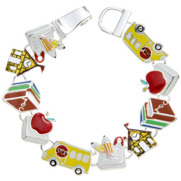 SCHOOL THEMED MULTI-COLOR MAGNETIC BRACELET