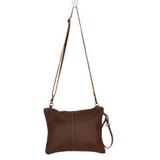 THE WANDERER LEATHER AND HAIRON BAG BY MYRA BAGS