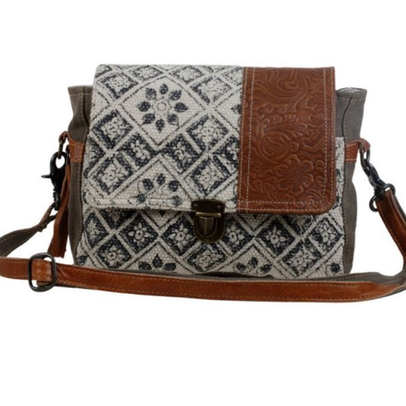 SPELL BOUND MESSENGER BAG by MYRA BAGS