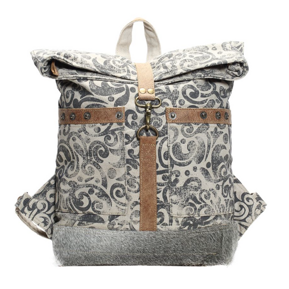 FOLDOVER BACKPACK BAG by Myra Bags