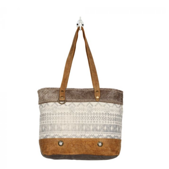 OROMOS CANVAS TOTE BAG BY MYRA