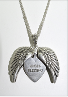 ANGEL BLESSING MESSAGE LOCKET
