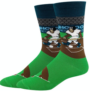 BASEBALL BIG FOOT SOCKS