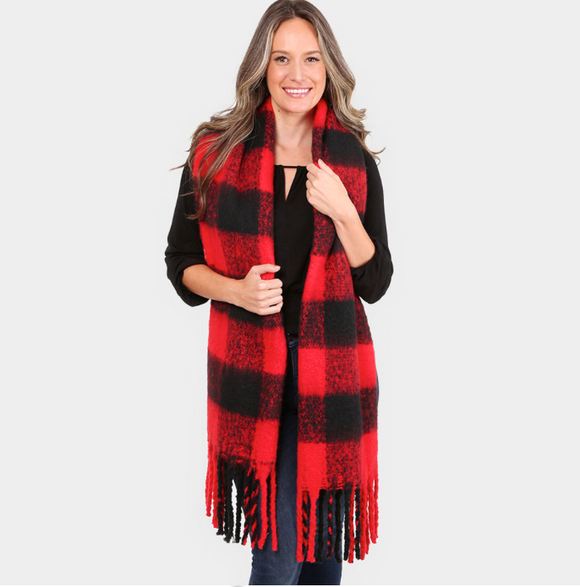 WINTER BUFFALO PLAID SUPER SOFT SCARF