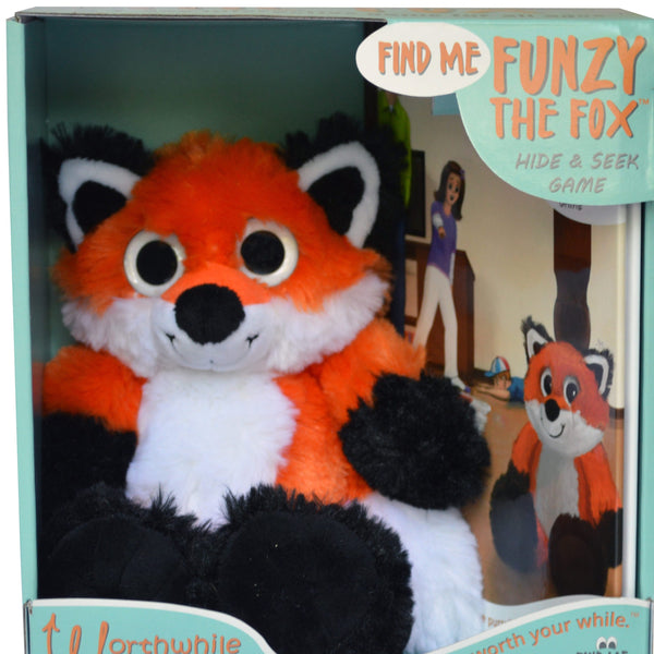 FIND ME FUNZY THE FOX - An interactive Hide & Seek Game