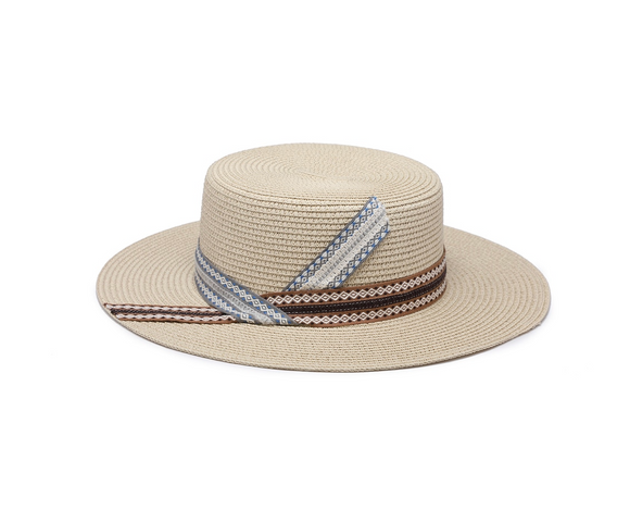 BECKETT NATURAL HAT By JEN & CO.