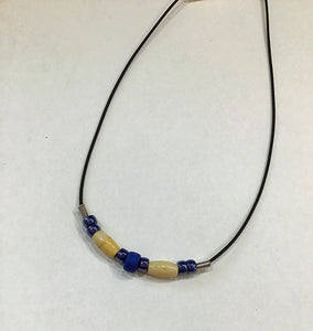 SIOUX BONE & BEAD NECKLACE