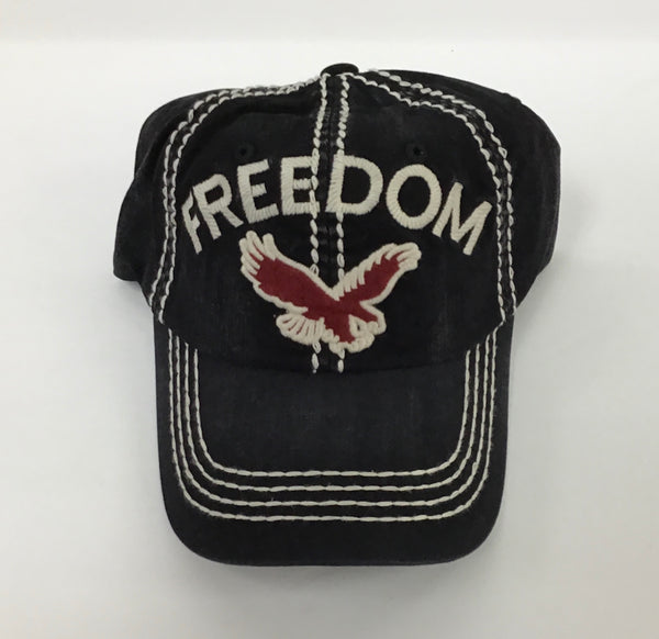 BALLCAP - FREEDOM/EAGLE