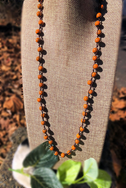 HANDCRAFTED BEADED NECKLACES