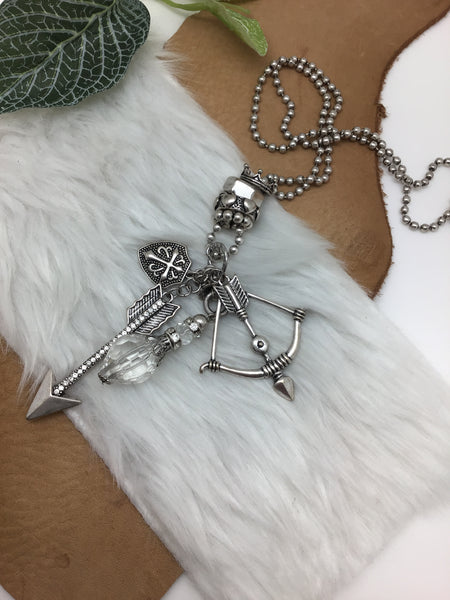 CUPID'S CROWN COLLECTION BALL CHAIN NECKLACE