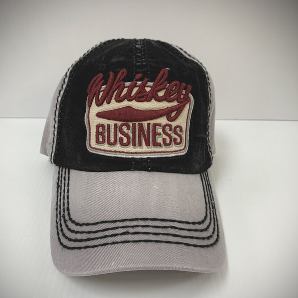 BALLCAP - WHISKEY BUSINESS