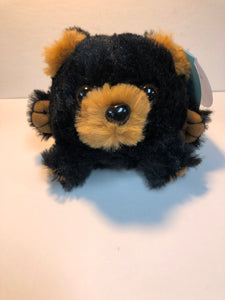 MINI BLACK BEAR - CUSHY CRITTERS