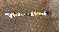 DOG MOM COLORFUL LINK BRACELET