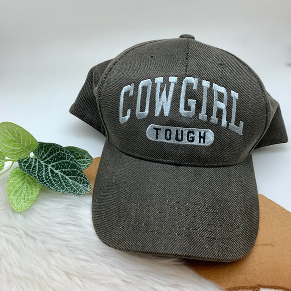 COWGIRL TOUGH BALL CAP