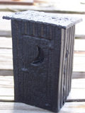 HAND CRAFTED COAL OUTHOUSE (LARGE)