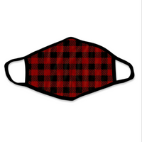 LUMBERJACK PLAID FACE MASK BY BIGFOOT SOCK CO.