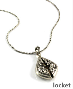 MESSAGE LOCKET - LORD'S PRAYER