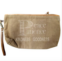 PEACE & PATIENCE CLUTCH