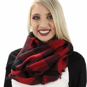 SCARF - BUFFALO PLAID INFINITY