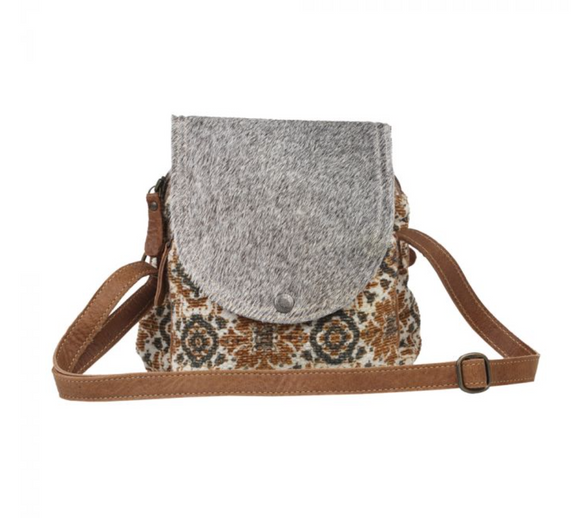 FOLKLORIC SMALL & CROSSBODY BAG by MYRA BAGS