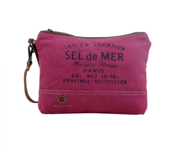 JUST PINK POUCH by MYRA BAGS