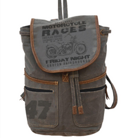 MOTORCYCLE RACES BACKPACK
