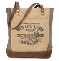 OLD LOG CABIN TOTE