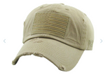 FLAG TACTICAL OPERATOR VINTAGE BALLCAP HAT (Multiple Colors)