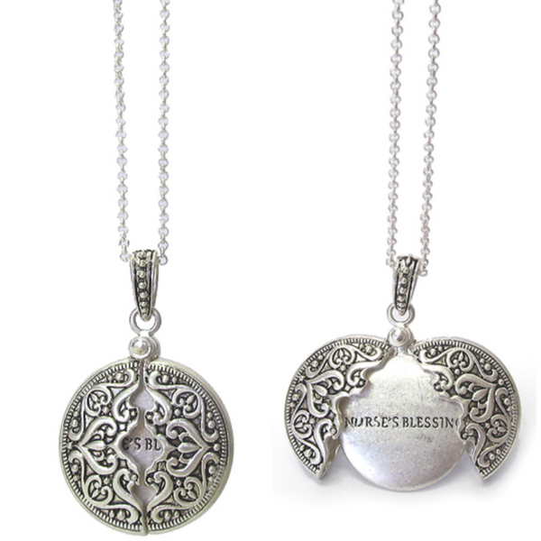 MESSAGE LOCKET - NURSES BLESSING