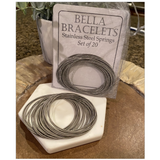 """BELLA BRACELETS"" STAINLESS STEEL"