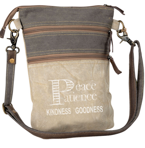 PEACE AND PATIENCE CROSSBODY