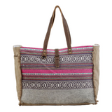 VIBRANT BOHO WEEKENDER BAG BY MYRA BAGS