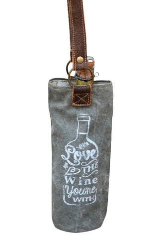 WINE TOTE - Love the Wine