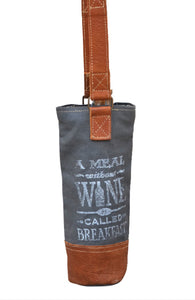 MEAL WITHOUT WINE - WINE TOTE