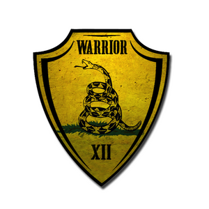 DON'T TREAD ON ME - WARRIOR XII DECAL