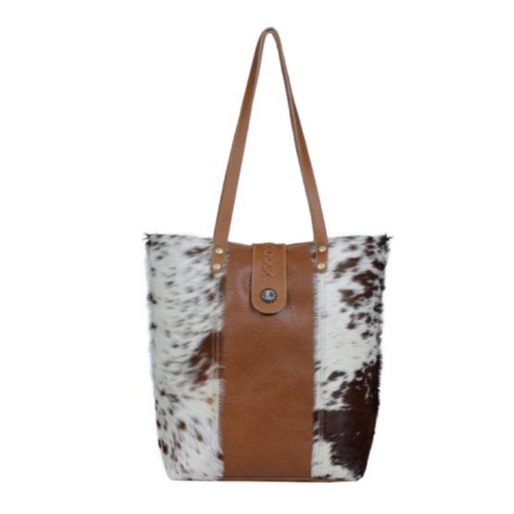 GRIZZLY BEAR CANVAS & HAIRON BAGS by MYRA BAGS