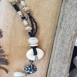 TRESKA IVORY & BLACK NECKLACE COLLECTION