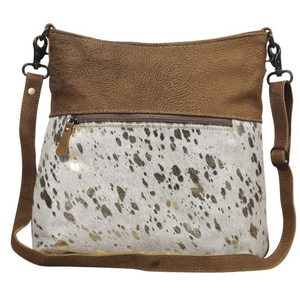 FREETHINKER LEATHER SHOULDER BAG