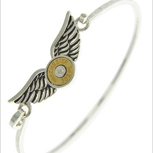 BULLET/ANGEL WING BANGLE