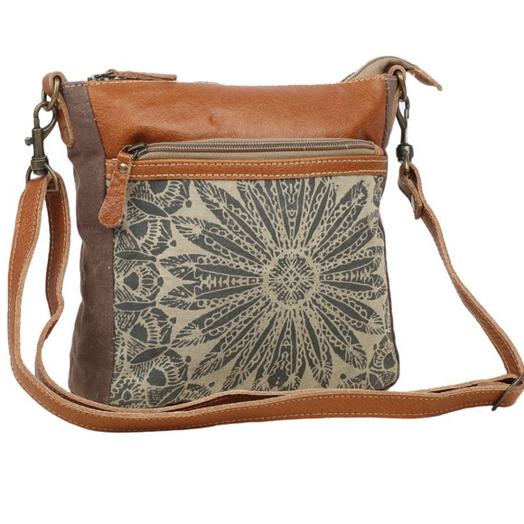 DIZZY CIRCLE SMALL & CROSSBODY BAG by MYRA BAGS