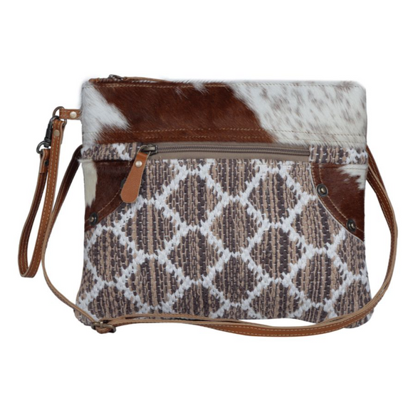 ICONIC STATEMENT SMALL & CROSSBODY BAG by MYRA BAGS