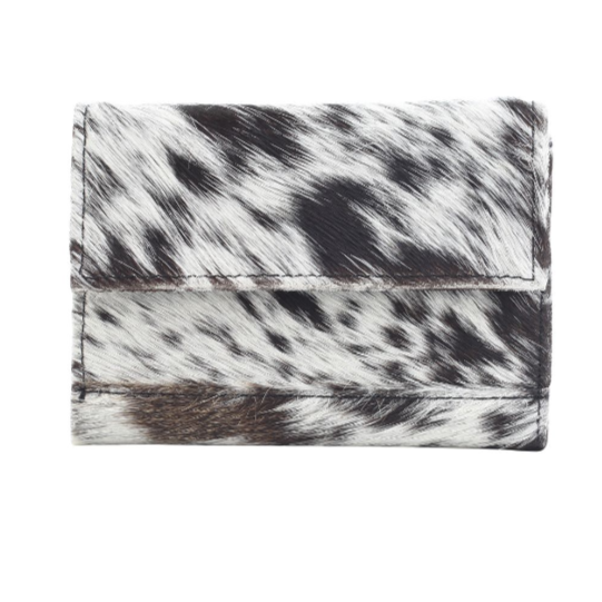 PANDA SWAG LEATHER AND HAIRON WALLET BY MYRA BAGS
