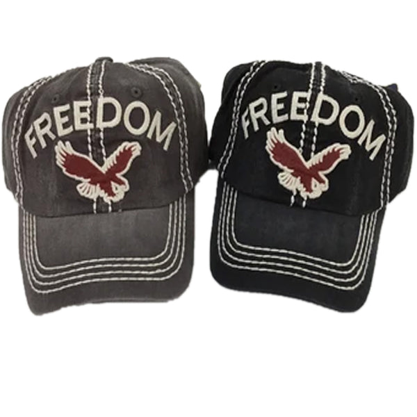 FREEDOM/EAGLE BASEBALL CAP / HAT
