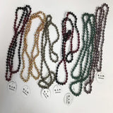 "30"" BEADED NECKLACES (MANY COLORS)"