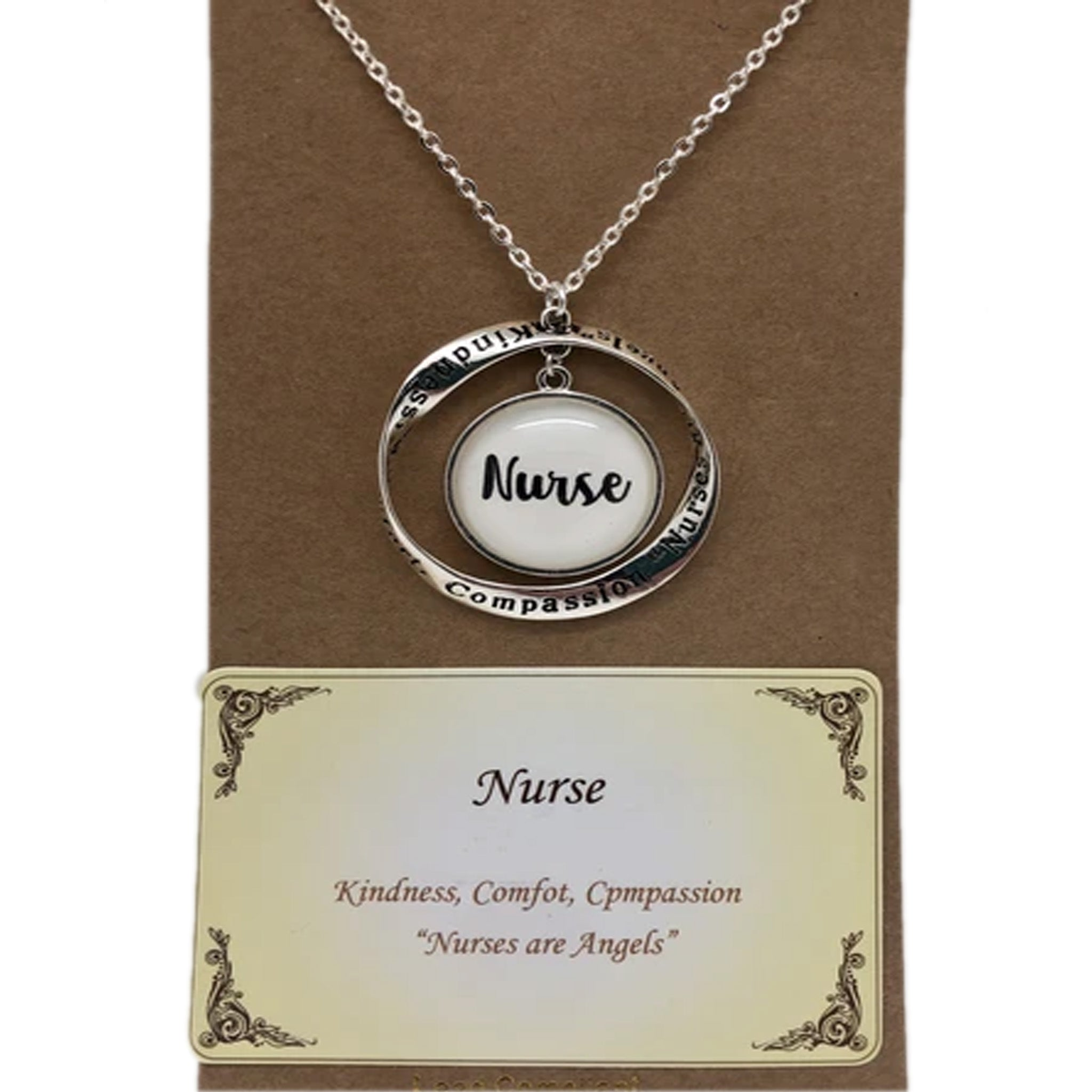 NURSE MESSAGE NECKLACE