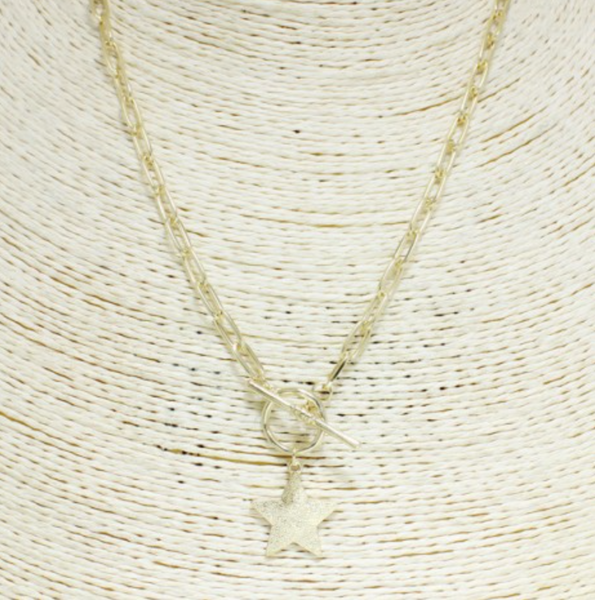 STAR TOGGLE NECKLACE