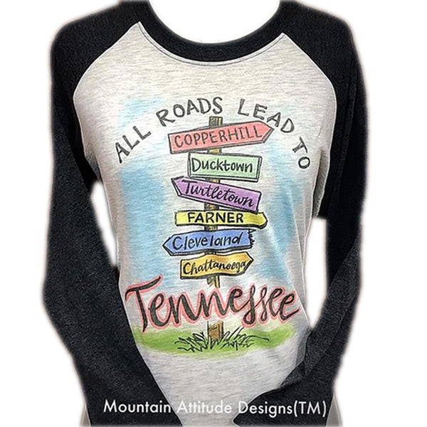 TN DIRECTIONAL 3/4 SLEEVE RAGLAN