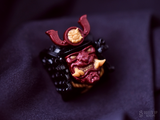 Oni Mask and Yokai Crest