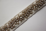 Pearl Flower Bridal Belt